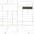 White marble tiles wall and floor exterior architecture background Royalty Free Stock Image