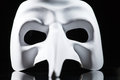 White mask Royalty Free Stock Photos