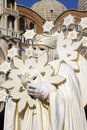 White mask from venice carnival Stock Photography