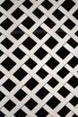 White metal lattice Stock Photos