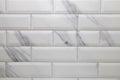 White metro ceramic tile background Royalty Free Stock Photo