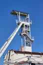 White mine tower Royalty Free Stock Photography