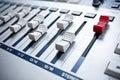 White mixer in studio Royalty Free Stock Photo