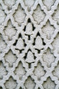 White mosaic wall Royalty Free Stock Photo