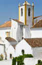 White old houses in Algarve, Portugal Royalty Free Stock Photo
