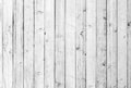 White old wood or wooden vintage plank floor or wall surface background decorative pattern. A minimal tabletop cover Royalty Free Stock Photo