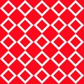 White ornaments geometric on red background repetition cards backgrounds
