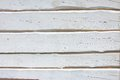 White painted boards background from wooden Stock Photo