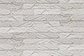 White Painted Brick Wall Background, Gypsum