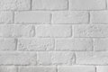 White painted brick wall texture background Royalty Free Stock Photo