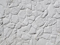 White Painted Rock Wall Royalty Free Stock Photo