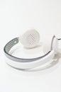 White pair of headphones