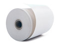White paper roll office isolated on background Stock Image