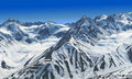 White Pass in St.Elias Mountains Royalty Free Stock Photography