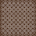 White pattern in islamic style Royalty Free Stock Photo
