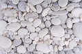 White pebbles Royalty Free Stock Photo