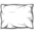White pillow Royalty Free Stock Images