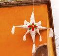 White Pinata Christmas  Decoration Jardin San Miguel de Allende Mexico Royalty Free Stock Photo