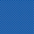 White Polka dots, Blue Background Royalty Free Stock Photo