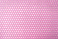White polkadot with pink background or wallpaper Royalty Free Stock Images