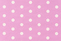 White polkadot with pink background or wallpaper Royalty Free Stock Photos