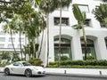 White Porsche Royalty Free Stock Photo