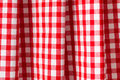 White and red checkered background Stock Photography