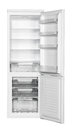 White refrigerator two door isolated on background Royalty Free Stock Photos