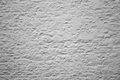 White rendered wall a with weathered texture Royalty Free Stock Photography