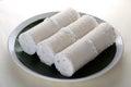 White rice Puttu Royalty Free Stock Photo