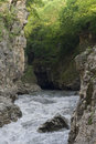White river gorge the republic of adygea russia Stock Images