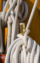 White rope Royalty Free Stock Photo