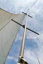 White sails Royalty Free Stock Photo