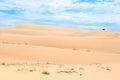 The White Sand Dunes Of Mui Ne