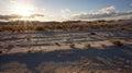 The White Sands desert Royalty Free Stock Photo