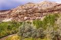 White Sandstone Mountain Capitol Reef National Park Utah Royalty Free Stock Photo
