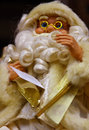 White santa christmas doll Stock Photography
