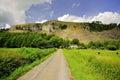 White Scar limestone ridge, Cumbria Royalty Free Stock Photo