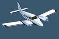 White screw plane