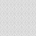 White seamless royal background vector illustration Stock Image