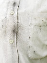 White shirts dirty Royalty Free Stock Photo