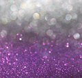 White silver and pink abstract bokeh lights defocused background Stock Images