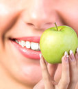 White Smile healthy Teeth Royalty Free Stock Photo