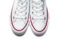 White sport shoes isolated on a white background pair of new sneaker Royalty Free Stock Photography