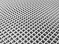 White square cellular lattice Royalty Free Stock Photo