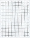 White squared paper made from recycled materials Royalty Free Stock Images