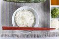 White steamed rice Royalty Free Stock Image