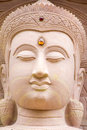 White stone carving buddha with naga 01