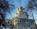 Church of the Kazan icon of the mother of God in Kolomenskoye Royalty Free Stock Photo