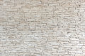 White stone tile texture brick wall out side building Royalty Free Stock Image